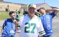 Jake & Tannr Photobombs at Jordy Nelson Charity Softball Game 8
