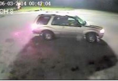 Borculo Burglary Suspect Vehicle