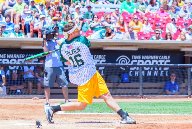 Jordy Nelson Charity Softball Game.  See all our pictures at: http://wixx.com/galleries/2205/  (copy and paste into your browser)