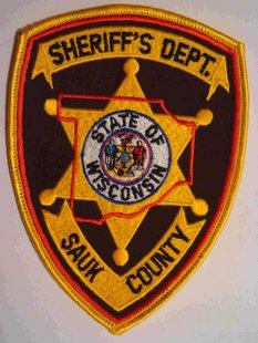 Sauk County Sheriff's Department patch