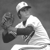 Bob Welch during his days at Eastern Michigan University (photo courtesy Eastern Michigan University)