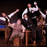 Scene from the 2013 Tibbits Summer Theatre production of Fiddler on the Roof