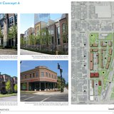 Warehouse District Alternatives - Concept A. (Photo from: City of Green Bay).