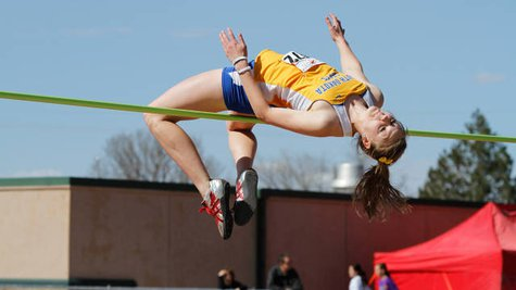 SDSU High Jumper and Sioux Falls Lincoln graduate Mary Wirth Photo Courtesy: SDSU