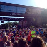 The start of the 2014 Bellin Run on Saturday, June 14, 2014. (Photo from: FOX 11).
