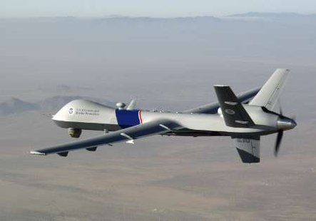 This one of several drones flown by the U.S. to conduct recon and  military operations.