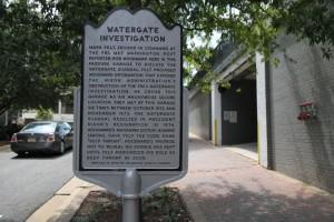 The Arlington County Board agreed on Saturday to raze the Rosslyn garage where FBI official Mark Felt secretly met with Washington Post reporter Bob Woodward during the Watergate scandal. (Wikimedia.org)