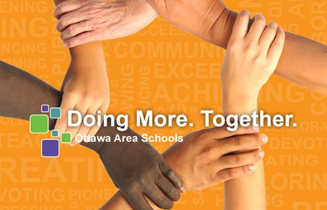 Doing More Together logo Ottawa Area Schools