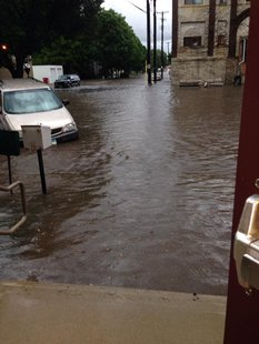 Flooding in Canton, SD.