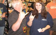 Q106 at Disc Traders - Battle Creek (6-14-14) 3
