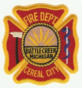 Battle Creek Fire Patch