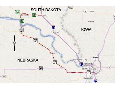 I-29 local detour