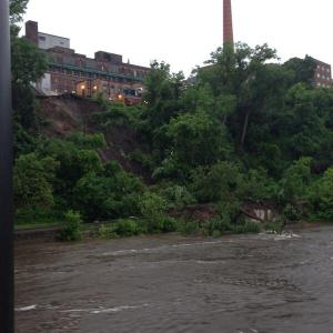 Mudslide near University of Minnesota Medical Center