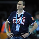 David Blatt in 2012, when he led the Russian men's basketball team to the bronze medal at the London Oympics.