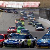 NASCAR Sprint Cup series racing at Sonoma Raceway.