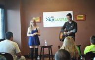 Oh Honey performs in the Y94 SkyLounge  14