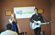 Oh Honey performs in the Y94 SkyLounge  12