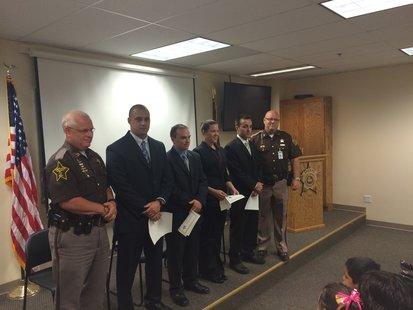 Captain Moats, Ellsworth,  Hartleroad, Parmer, Pirtle, Sheriff Ewing