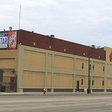 The Faygo bottling plant and corporate offices Detroit (Photo by Dwight Burdette and used by courtesty of Wikimedia Commons).