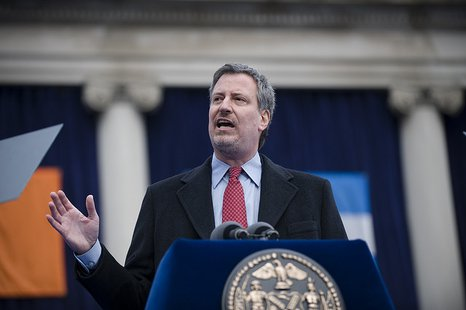 Mr Bill de Blasio