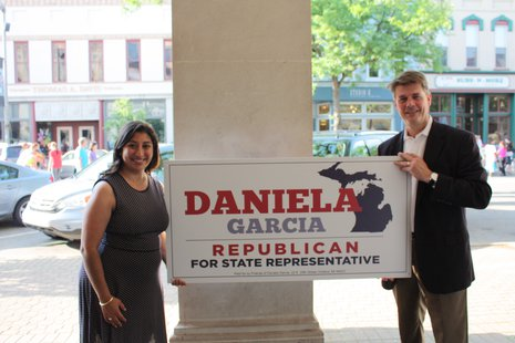 Daniela Garcia with Joe Haveman