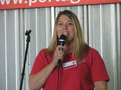 Portage County Farm Technology Days Executive Committee Chairperson Sara Brish