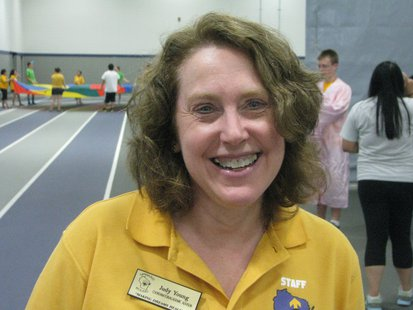 Judy Young, Counselor for Upward Bound students through UW Stevens Point