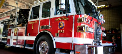 Portage fire truck.  .