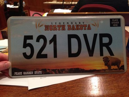New North Dakota license plate unveiled