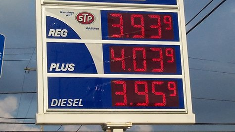Gas prices could dip and then rise again before the holiday weekend.