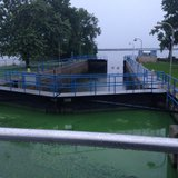 The Menasha locks (Photo from: FOX 11).