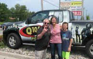 Q106 at Phantom Fireworks (6-28-14) 6