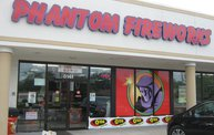 Q106 at Phantom Fireworks (6-28-14) 5