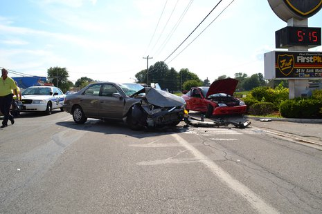 Accident photo provided by Indiana State Police