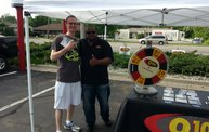 Q106 at Phantom Fireworks (6-30-14) 6