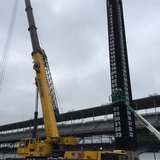 500 Scoring Tower Comes Down