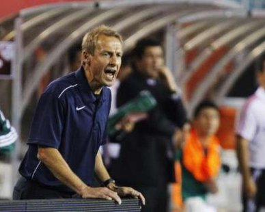 US men's national soccer team head coach Jurgen Klinsmann REUTERS/Tim Shaffer
