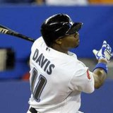 Detroit Tigers OF Rajai Davis in 2011 action while with the Toronto Blue Jays REUTERS/Mike Cassese