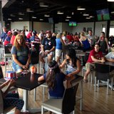Soccer fans watch the U.S. vs. Belgium World Cup game, July 1, 2014, at Fox Cities Stadium in Grand Chute. (Photo from: FOX 11).