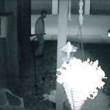 Still photo of an alleged peeper in the 300 block of S. Fisk Street taken between June 23 and 24, 2014. (Photo from: Green Bay Police Department).