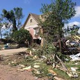 Wessington Springs damage  sdpb photo