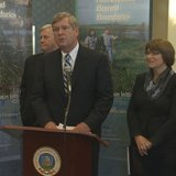 Agriculture Secretary Tom Vilsack makes a stop in Moorhead