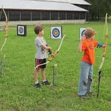 S.D. archery training