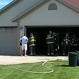 West Fargo Firefighters put out garage fire