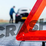 Vehicle crash image copyright Midwest Communications, Inc. 2014