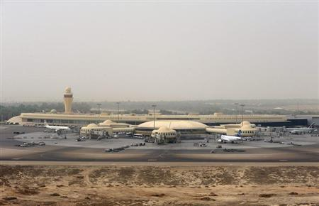 A general view of Abu Dhabi International Airport is seen, September 19, 2012. CREDIT: REUTERS/BEN JOB