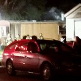 Mobile home fire in north Fargo