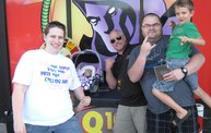 Q106 at Phantom Fireworks (7-2-14) 2