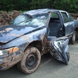 Vehicle involved in Douglas County rollover crash