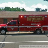 Ambulance outside of a local law firm building in Wausau, WI.